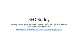 SEO Buddy ppt Digital slide making software
