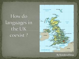 How do languages in UK_ coexist - urok.1sept.ru Digital slide making software