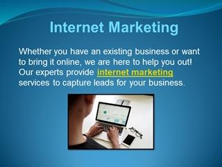 Internet Marketing Digital slide making software