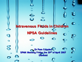 Why Hypotonic Fluids should be banned in Paediatric Practice,